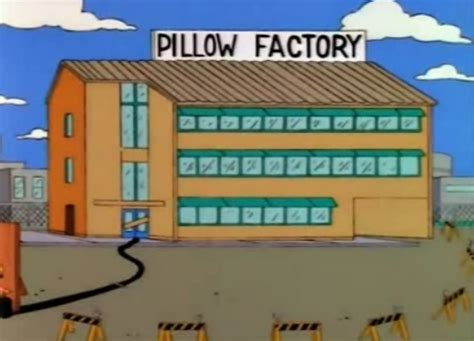 the pillow factory pillow factory simpsons wiki