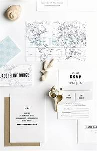 destination wedding invitation suite gazette by hello With wedding invitations durham nc