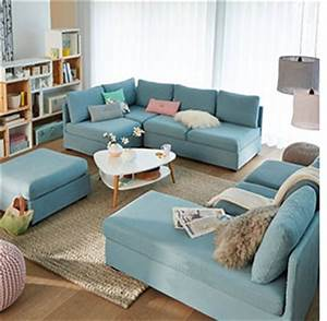 canape modulable 5 elements 12 coloris mobilier With tapis persan avec canapé d angle panoramique ikea