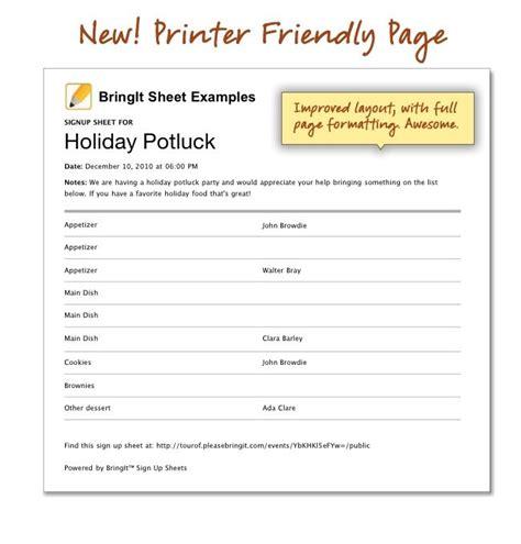 printable christmas sign up sheet printable potluck sign up sheet thanksgiving church sign up sheets