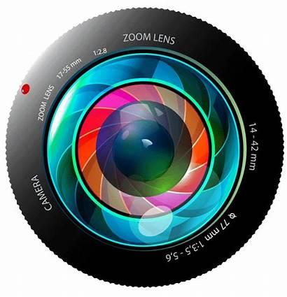 Camera Lens Transparent