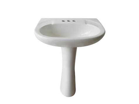 Menards White Pedestal Sink by Altima 23 3 4 Quot X 18 5 8 Quot White Pedestal Sink At Menards 174