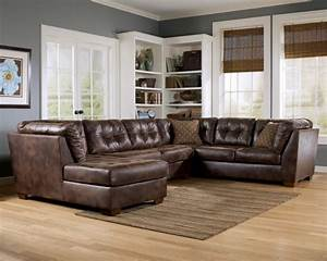 brown leather sectional with chaise sleeper sofa bed and With leather sectional sofa with recliner and bed