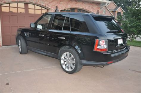 luxury black range rover salsk2d47ba294613 2011 range rover sport hse luxury