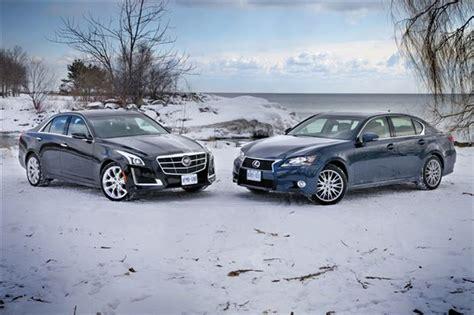 Comparison Test 2014 Cadillac Cts 36 Awd Vs 2014 Lexus