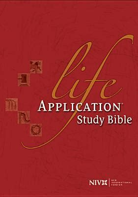 life application study bible niv  anonymous reviews
