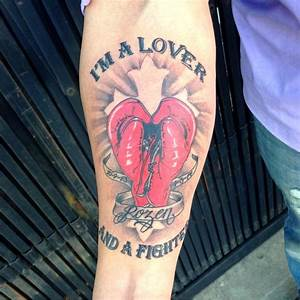 Boxing Gloves/Heart Tattoo | Yelp