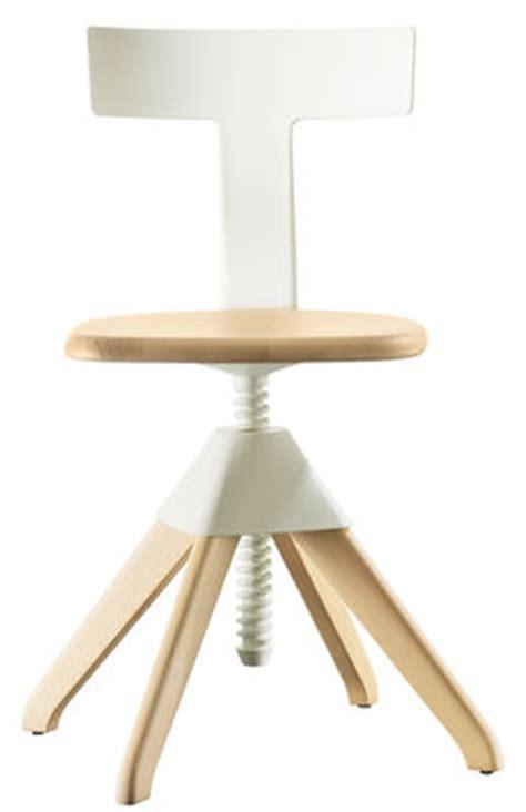 chaise réglable en hauteur chaise pivotante tuffy bois plastique hauteur