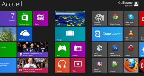 icones bureau windows 8 organiser les tuiles de l 39 écran d 39 accueil windows 8 en