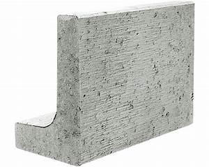 Randsteine Beton Preise : mini l stein grau 30x20x40x6cm bei hornbach kaufen ~ Frokenaadalensverden.com Haus und Dekorationen