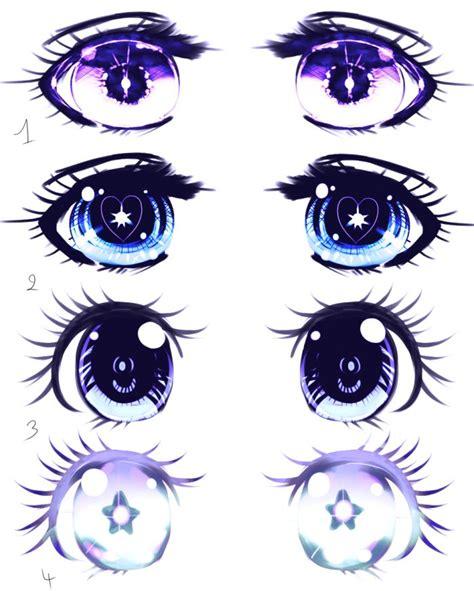 Anime Eyes Manga Augen Zeichnen Zeichnungen Und Download ...