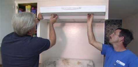 How to Replace a Range Hood in Your Kitchen   Today's