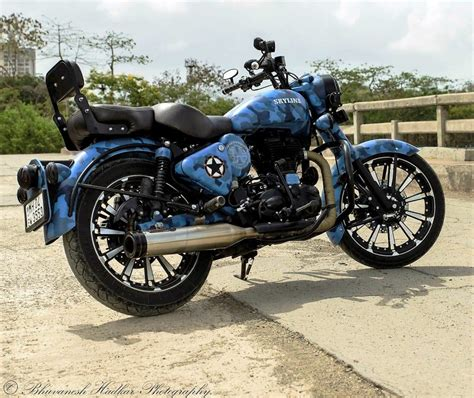 Royal Enfield Classic 500 Modification by Royal Enfield Modified Royal Enfield Classic 500 Skyline