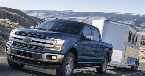 2018 Ford F150 Towing Capacity Chart