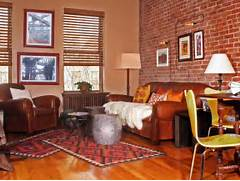 Living Room Design Brick Wall Interior Decorating With Rugs Interior Design Styles And Color Schemes For