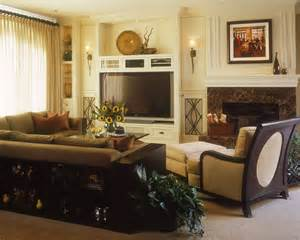 traditional luxury home family room robeson design san - Luxury Home Interior Designers