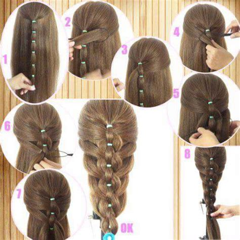 step  step easy hairstyles  girls step  step ideas