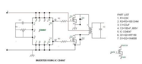 purpose  build  simple  watt   watt inverter circuit   apply ups circuit