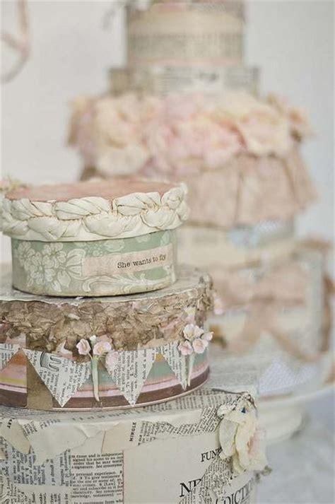 shabby chic wedding cake decorations vintage wedding cakes 1835004 weddbook