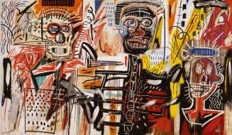 Philistines, 1982  Jeanmichel Basquiat Wikiartorg