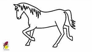 Image Gallery horse drawing easy