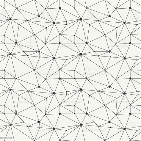 Geometric Line Hipster Seamless Pattern With Triangle