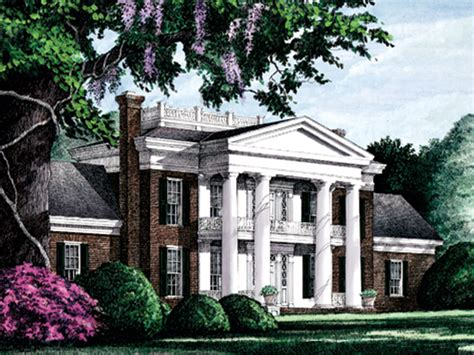 Southern Plantation Home Plans by Elwood Luxury Plantation Home Plan 128d 0005 House Plans