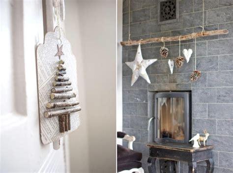 decoration de noel  sapin en bois en  idees inspirantes