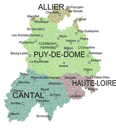 Carte Nouveau Monde Conseil Régional Auvergne by Auvergne Archives News Roads News Roads