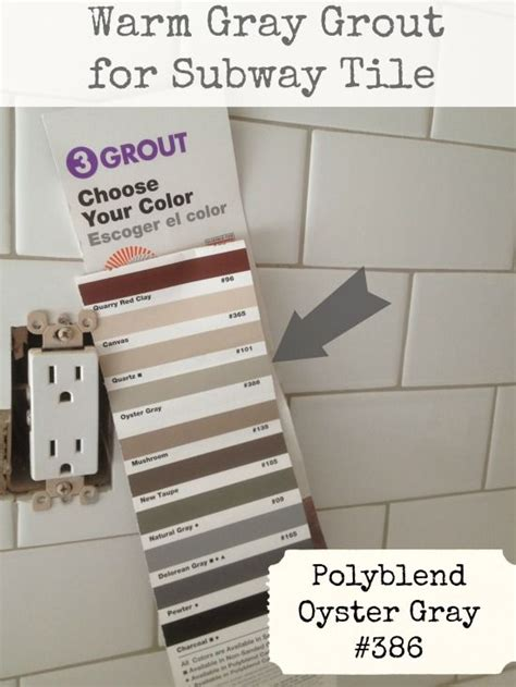 menards gray subway tile 25 best ideas about grout colors on grouting