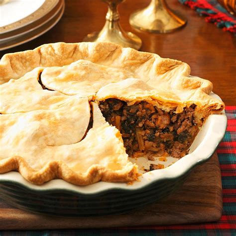 christmas eve meat pie recipe taste  home