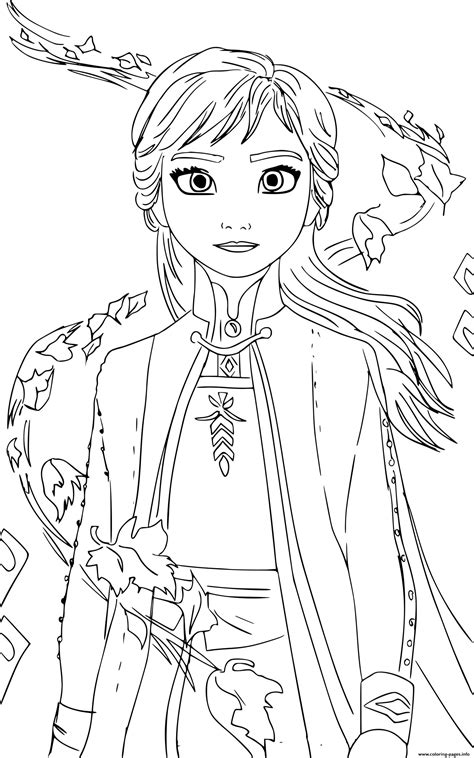 anna frozen   cristina picteaza coloring pages printable