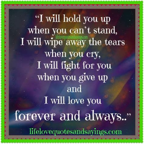 Loving You Always And Forever Quotes