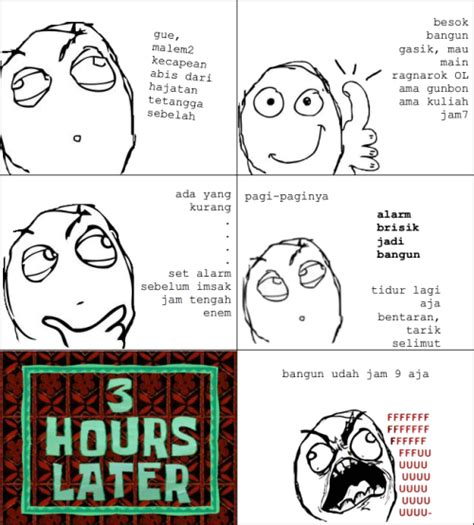 Meme Komik - rage comics indonesia