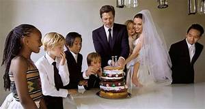 Brad Pitt and Angelina Jolie Wedding All Photos Pictures