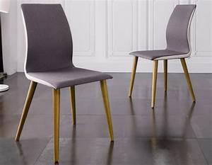Chaise salle a manger design salle manger chaises salle for Meuble salle À manger avec chaise salle a manger tissu gris