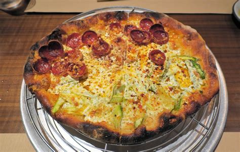 Three Cheese W Asparagus & Pepperoni Pizza  Excellent