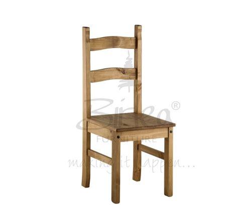 birlea corona budget pine dining table set with 4 chairs