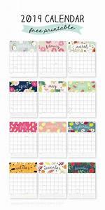 2020 Calendar Printable Monthly Calendarios 2020 Para Imprimir Gratis Calendarios