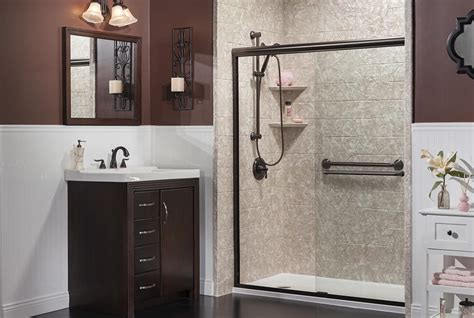 Bathroom Shower Walls - reborn bathroom remodeling solutions