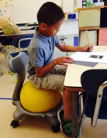 Exercise Chairs For Classroom The Benefits Of Fidgeting For Students With Adhd Wsj