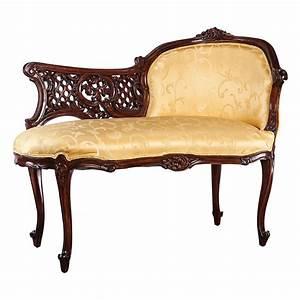 Design Toscano Madame Fabric Chaise Lounge