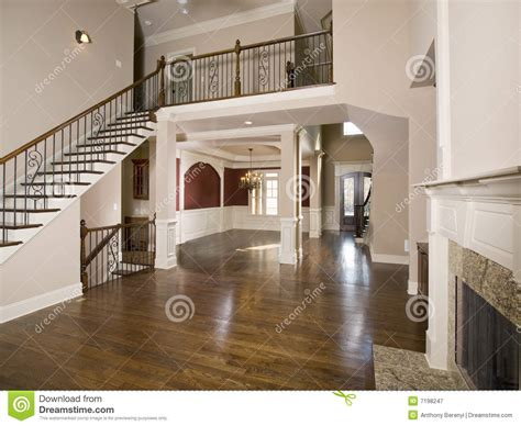 staircase  luxury living room wide view stock image image  stair lobby