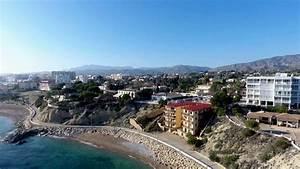 Drone Flight Over Villajoyosa Spain