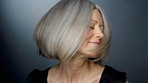 Graue Haare Farben Schwarz Modische Haarschnitte Und