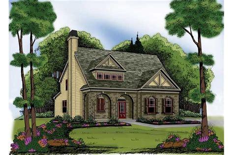 tudor home   bdrms  sq ft house plan