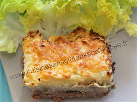 cuisine sans lactose recettes de parmentier de cuisine sans gluten et sans lactose