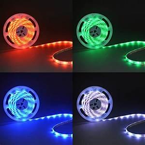 Led Lichtleiste Farbwechsel : b k licht au enbeleuchtung led stripes 5m lichterkette f r den au enbereich lichtleiste ~ Eleganceandgraceweddings.com Haus und Dekorationen