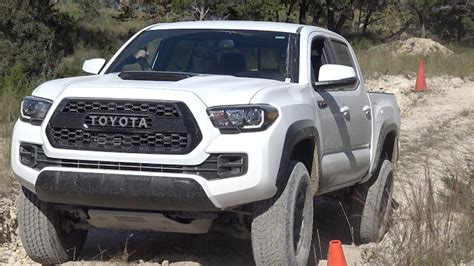 First Off-road Drive In The 2017 Toyota Tacoma Trd Pro
