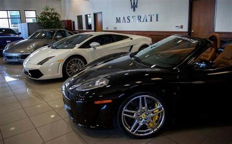 Exotic Car Sales See Rebound